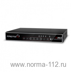 PTX-M808 Full, H-264 видеорегистратор, 2CHxD1 real time,6CHxCIF real time, каналов Видео 8 BNC